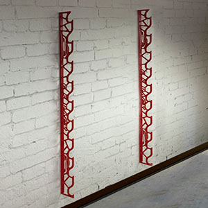 Awesome Designed By A Wrap Professional, Auto Skins Vinyl Racks Are A Stylish Way  To Store Your Colorchange Vinyls. These Wall Mounted Laser Cut Racks Are  Made From ...